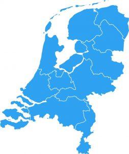 nederland-map-blauw-uitgelijnd